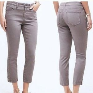 ➕ anthropologie grey pilcro skinny midrise ankle